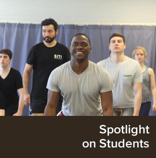 Spotlights on Students.