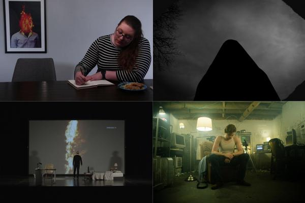 Stills from 4 films
